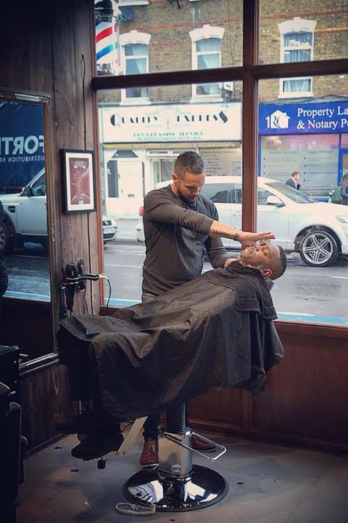 Award winning barbershop